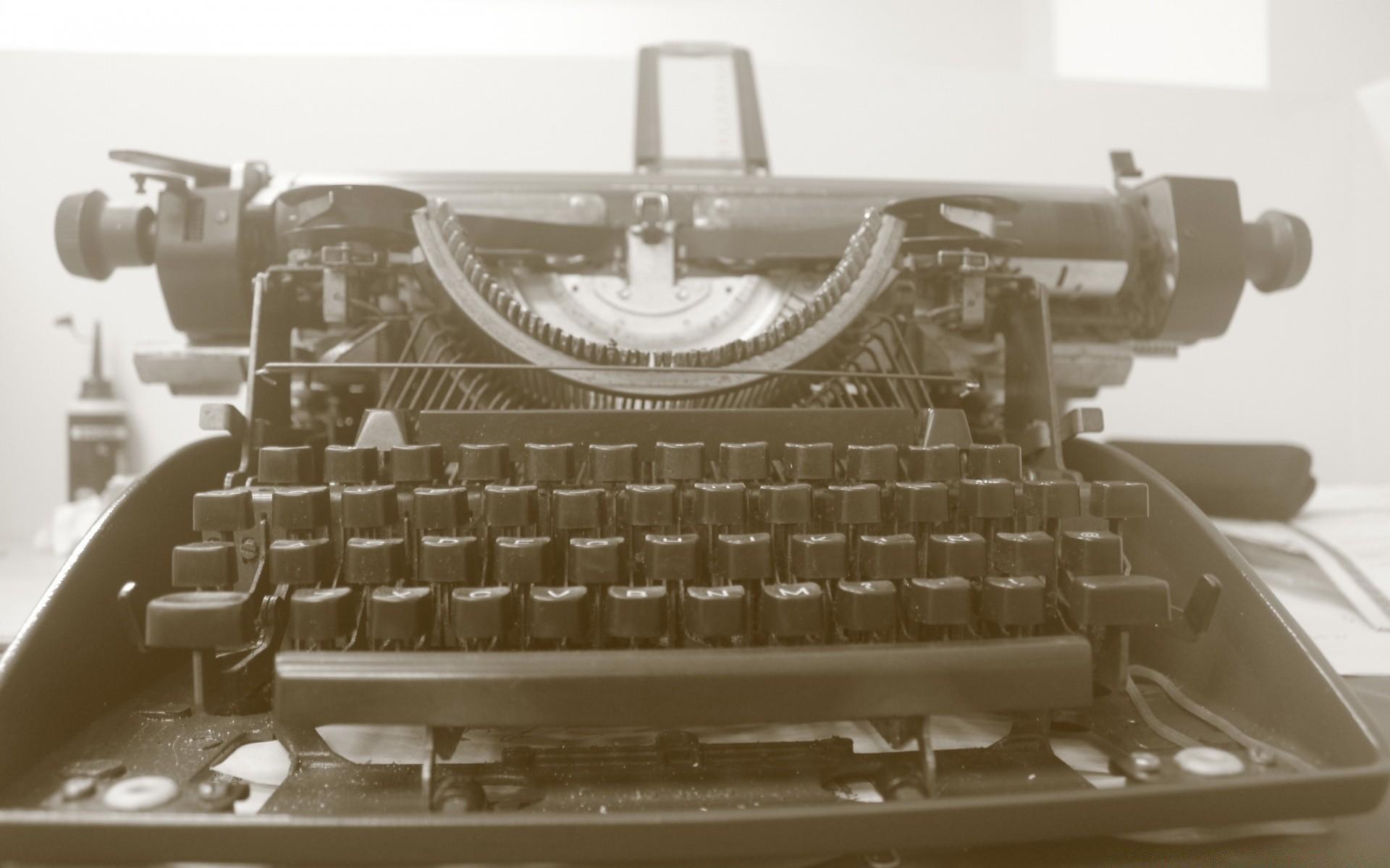 обои для рабочего стола печатная машинка № 1409203 без смс