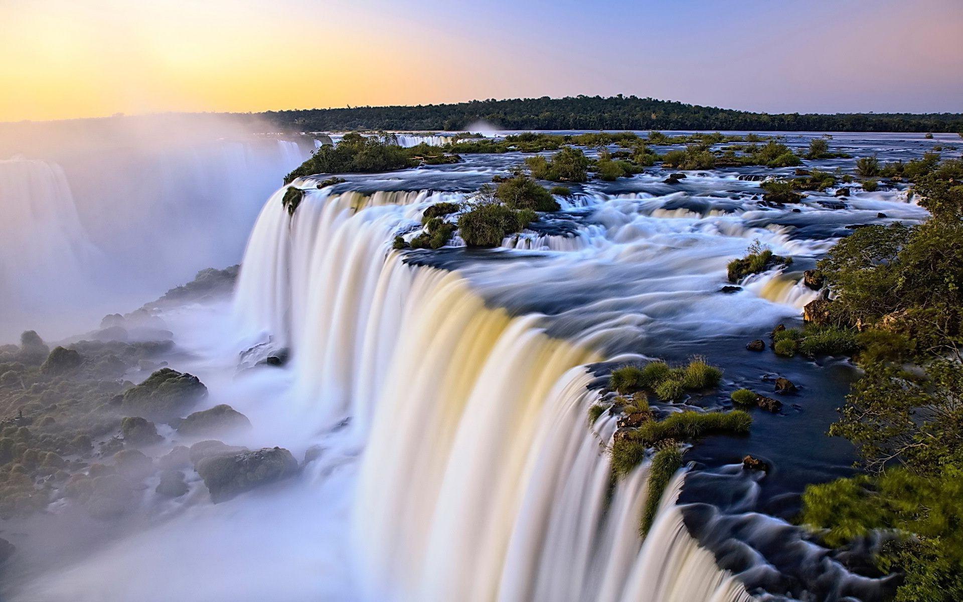 водопады мира фото для рабочего стола также работала