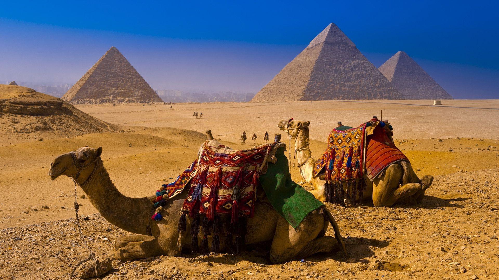 Обои для рабочего стола пирамиды египет