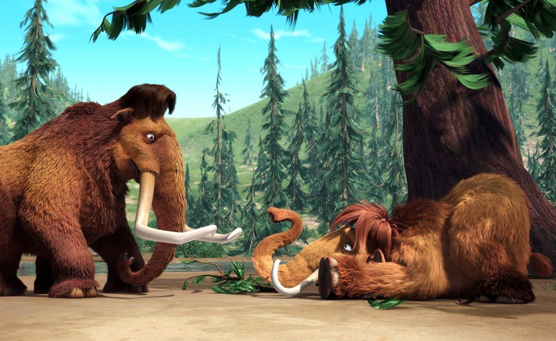 Бивни мультфильм ледниковый период