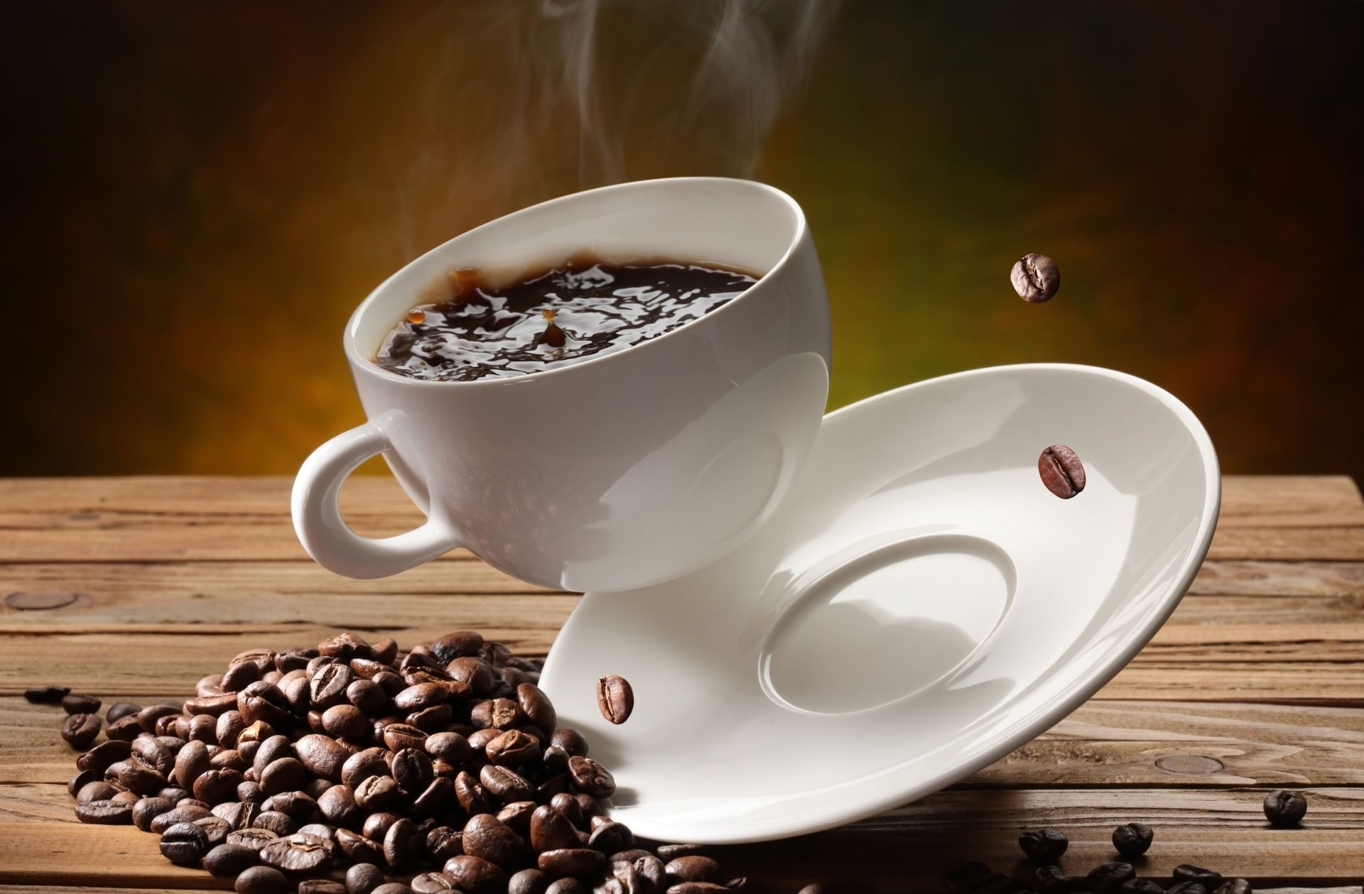 Чашка кофе капучино фото