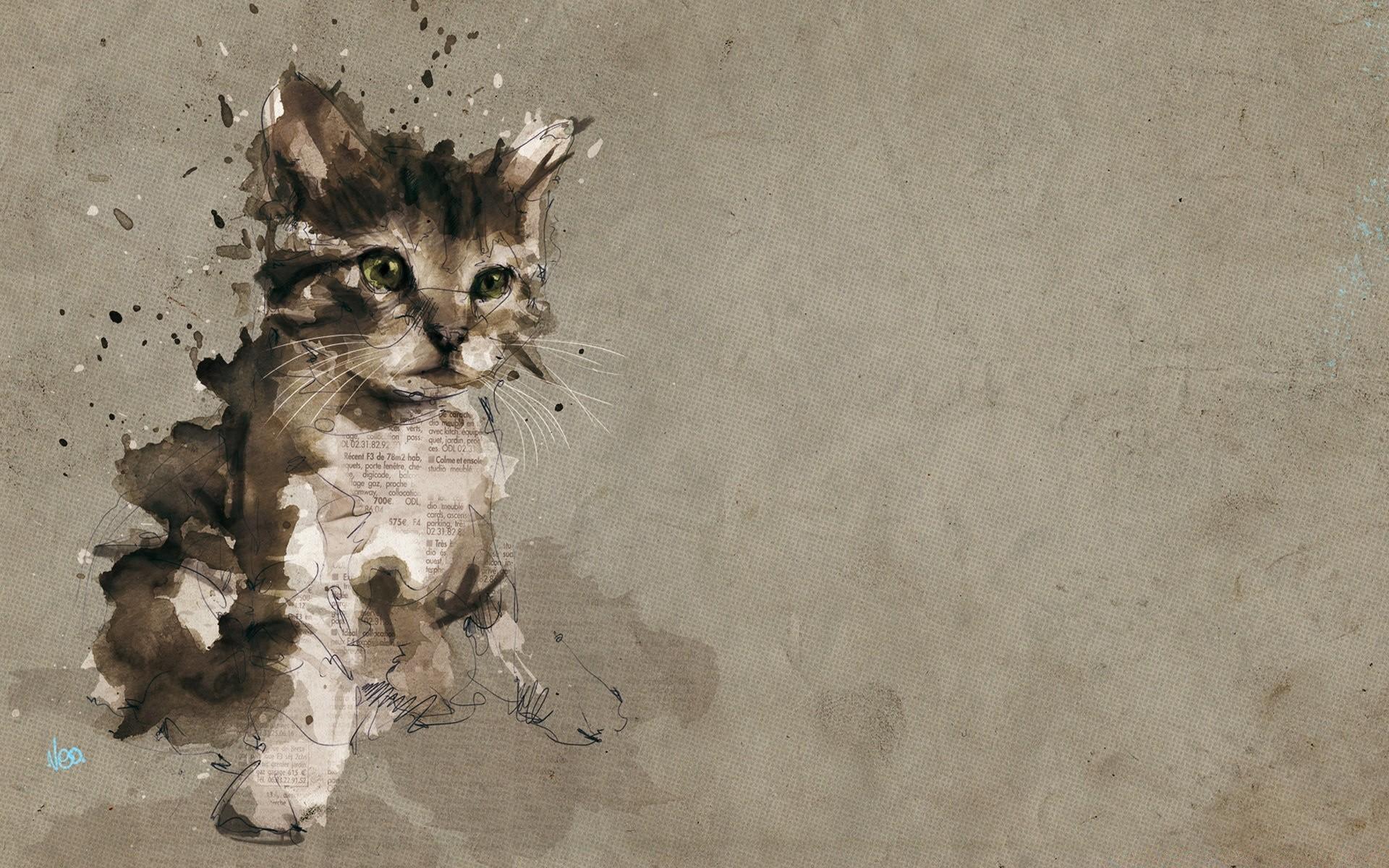 рисунки животных обои знать, сколько вопросов