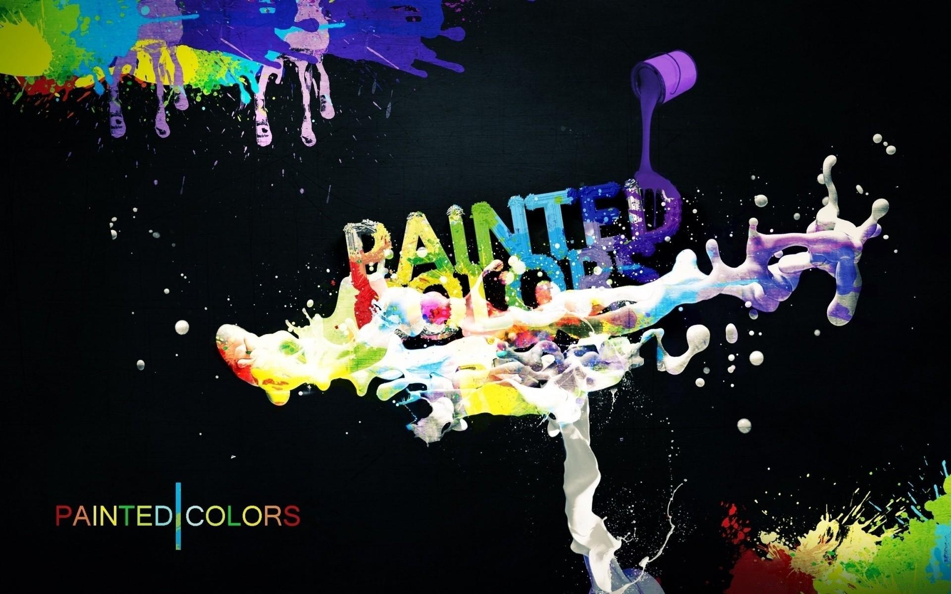 Слово краски картинки
