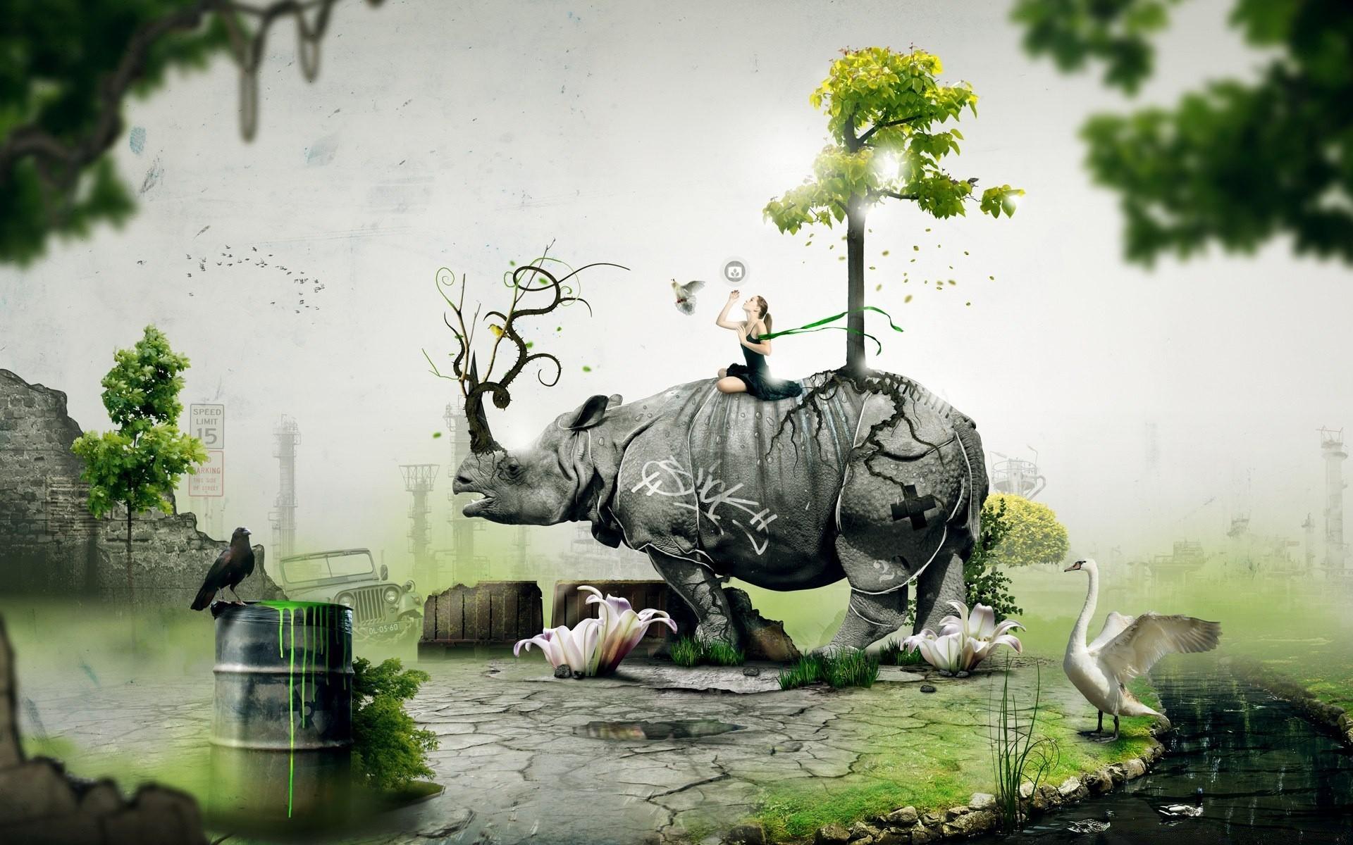 Картинки на телефон животные креативные
