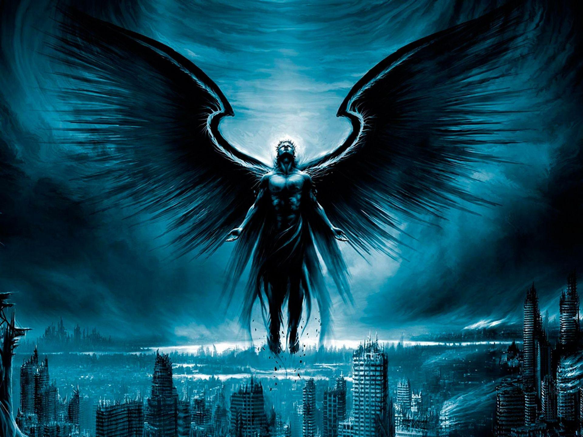 Черный ангел картинки