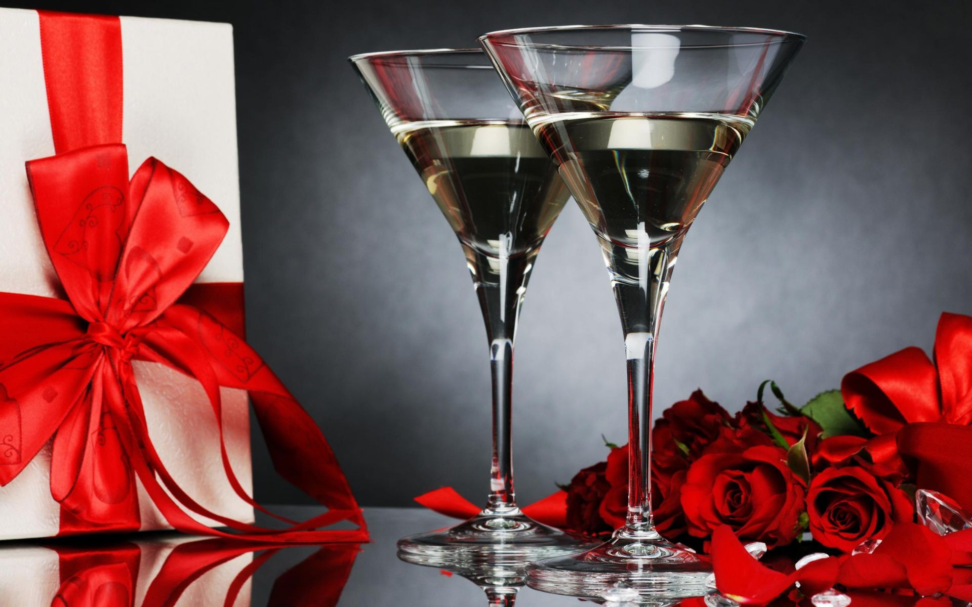 Картинки, открытки бокалы вина