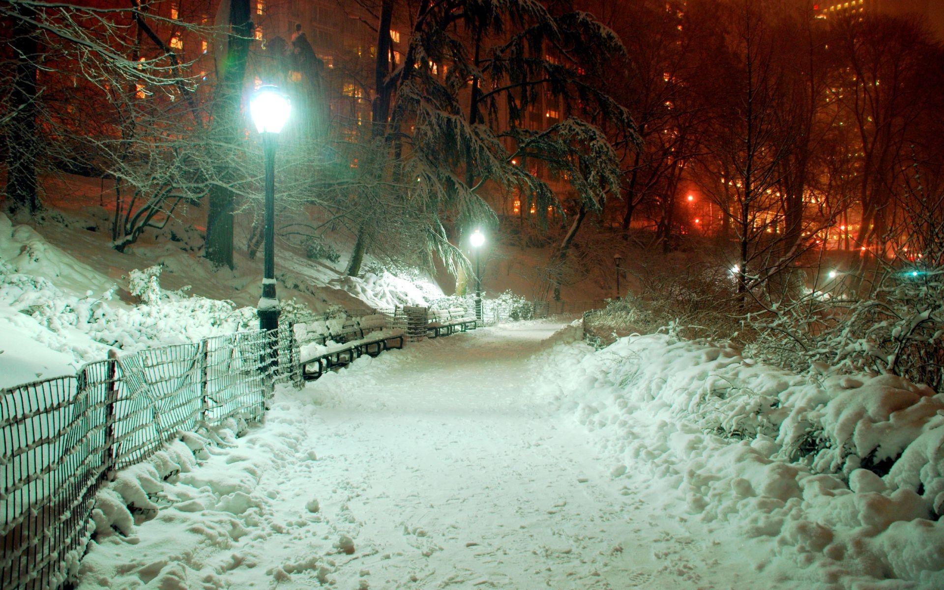 Обои тротуар, здания, свет. Города foto 18