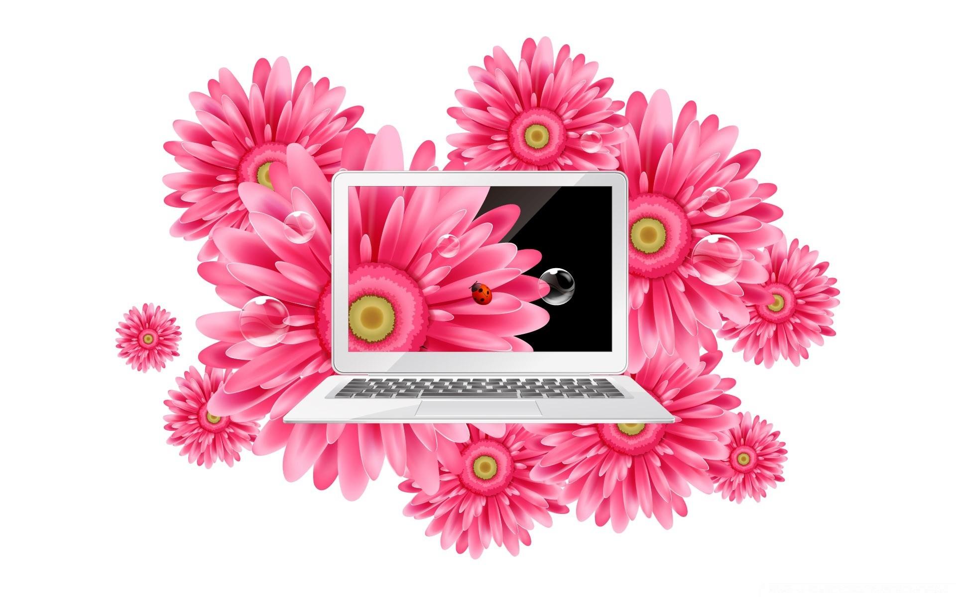 Открытка компьютера