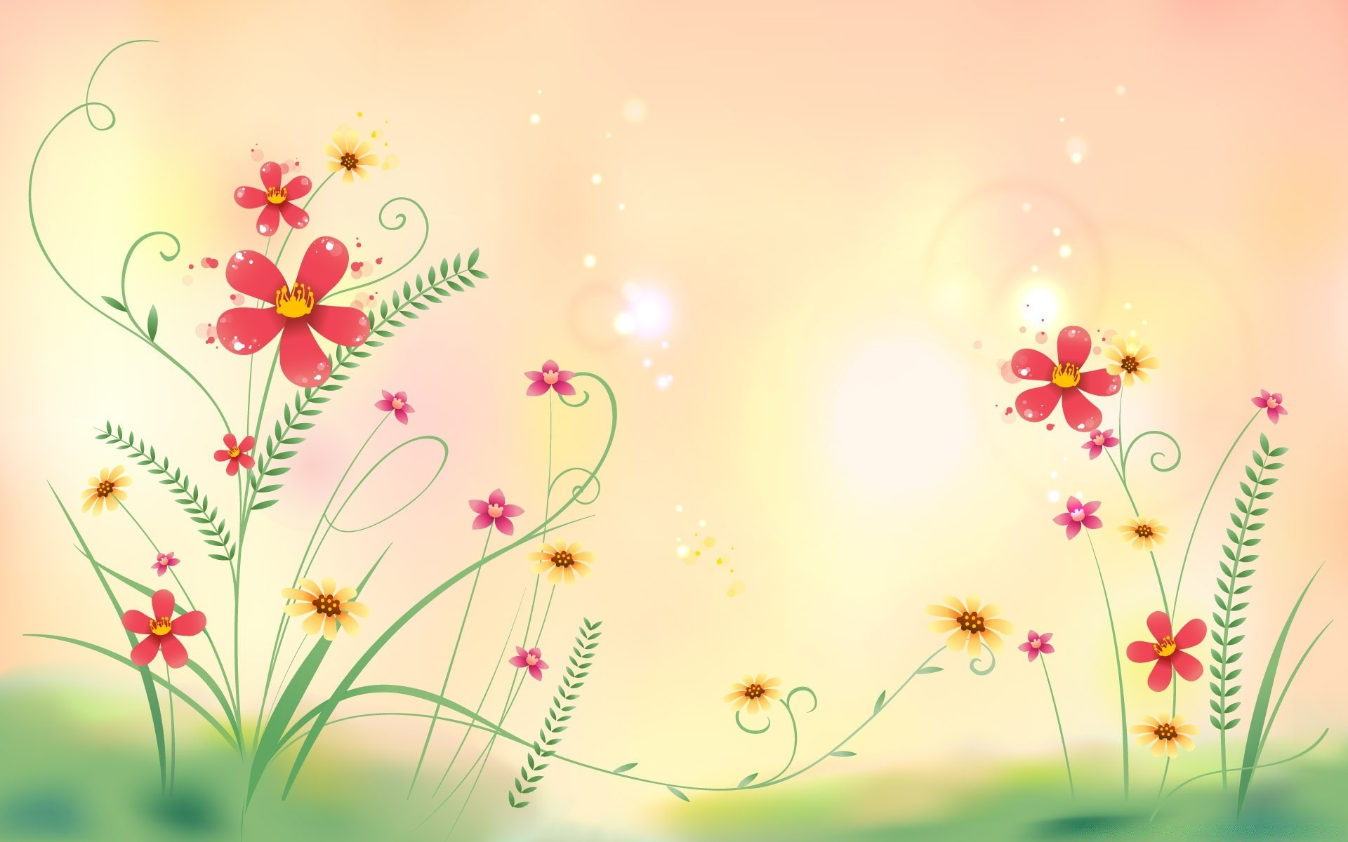 Цветы на открытку рисунки