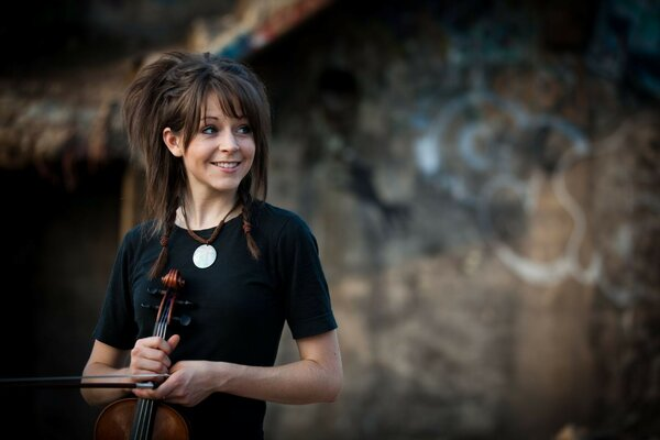 линдси стирлинг скрипачка violin скрипка Lindsey stirlin