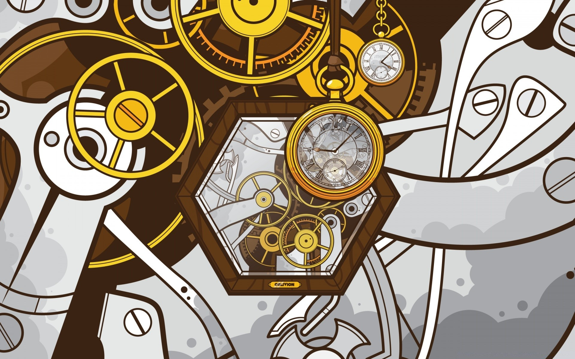 Время картинки абстракция