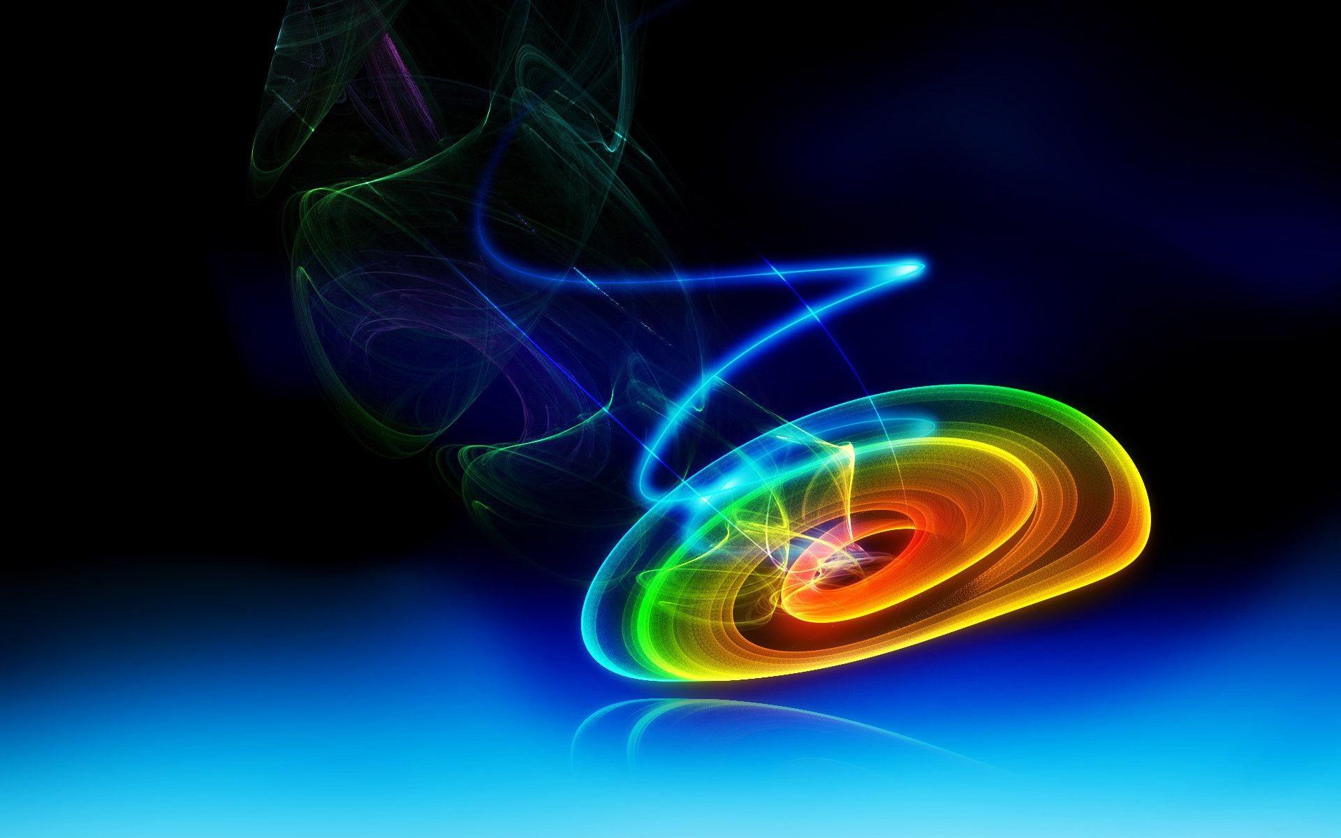 Обои свет, спираль, Цвет. Абстракции foto 10