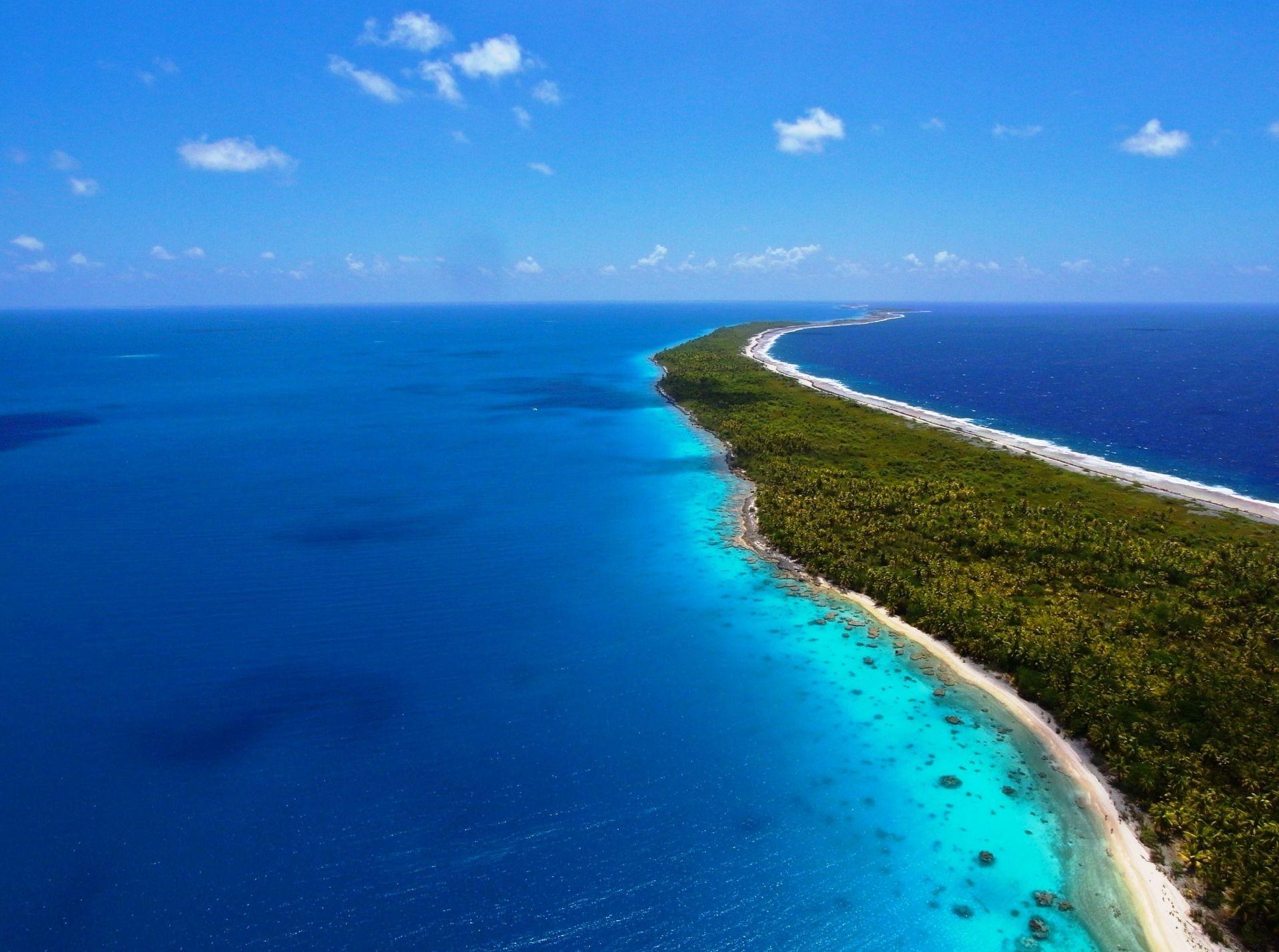 Океан остров природа пейзаж море