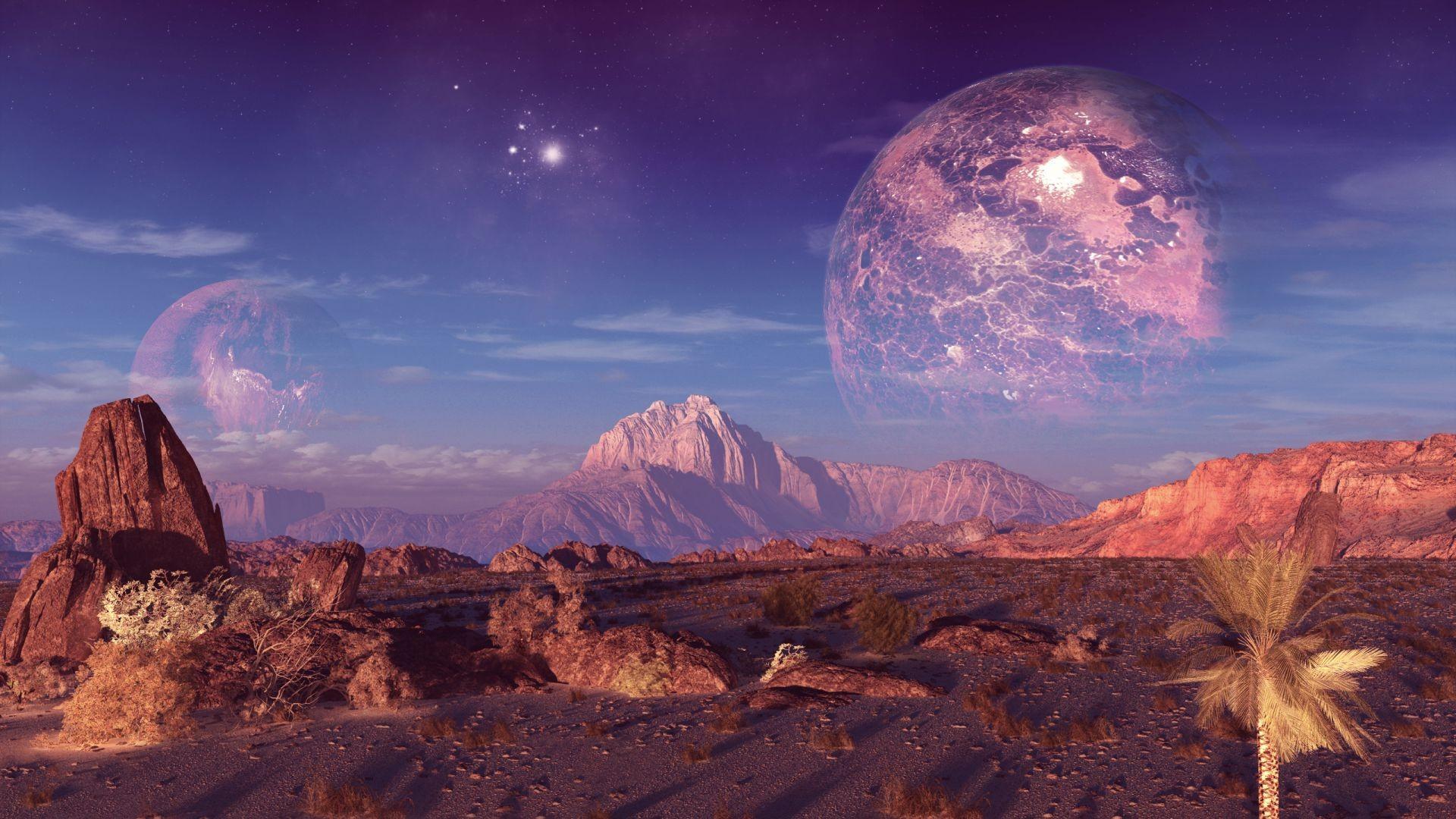 Фото большие планеты фантастика