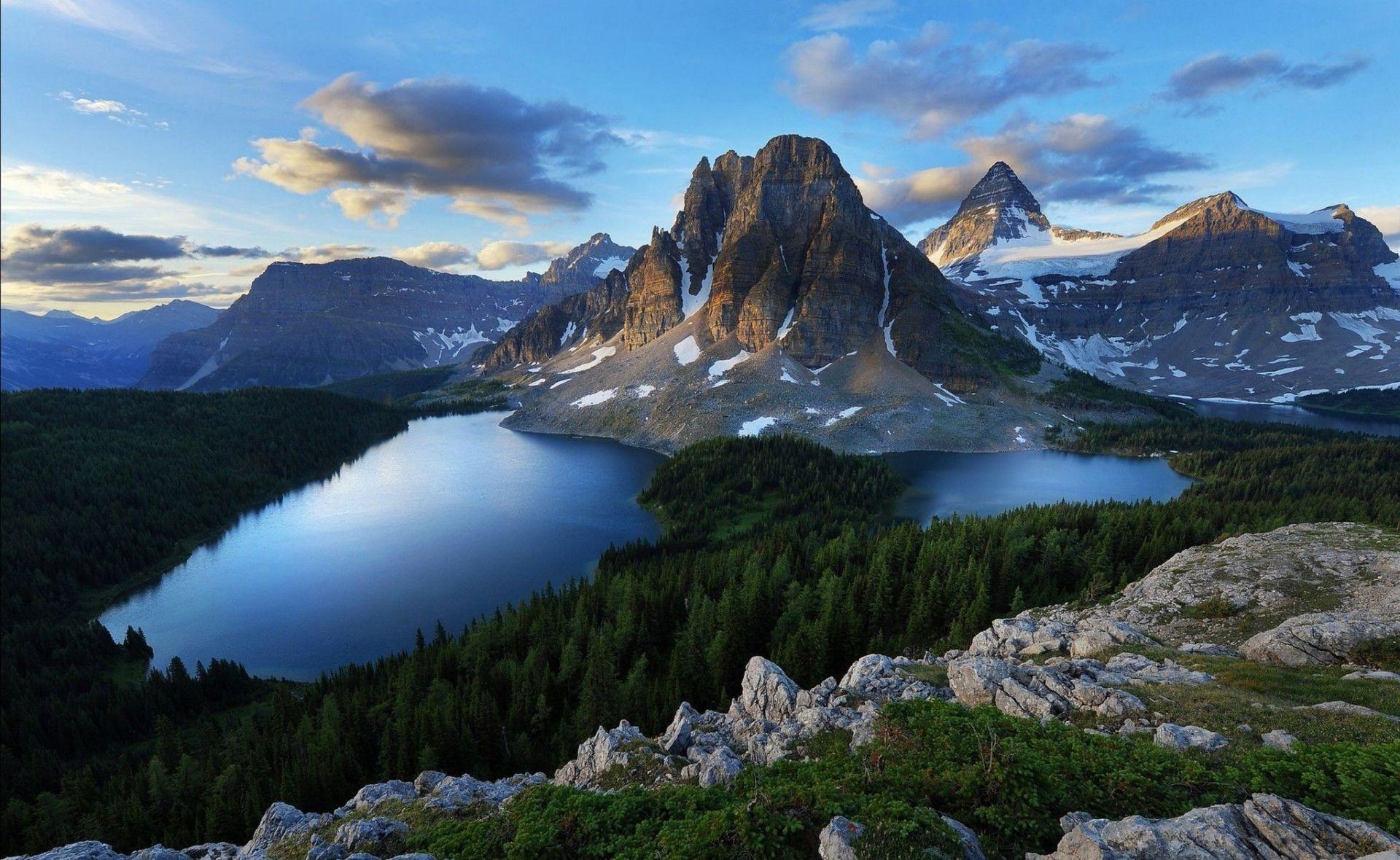 Горные вершины фото