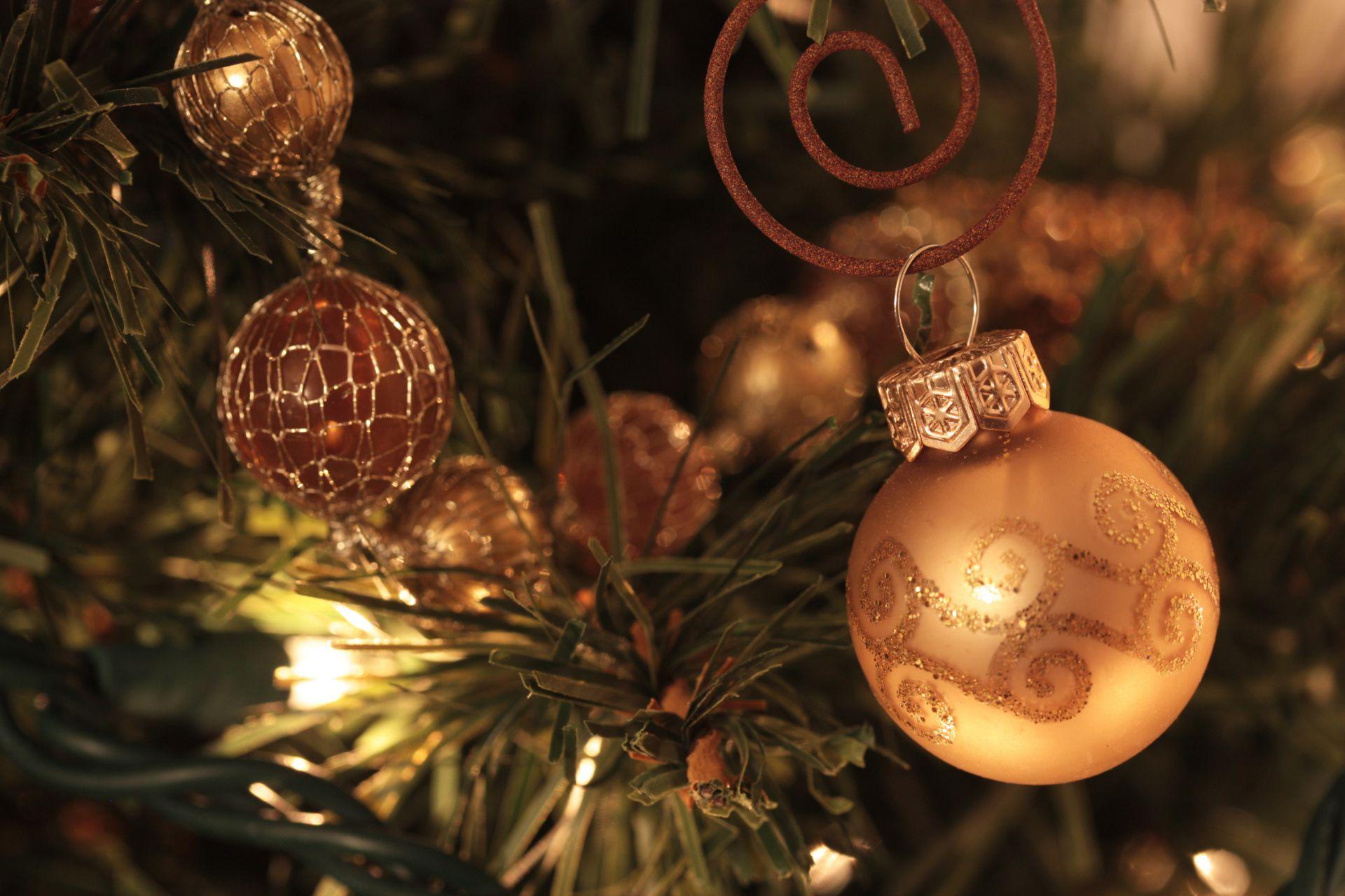 Фото красивых новогодних украшений