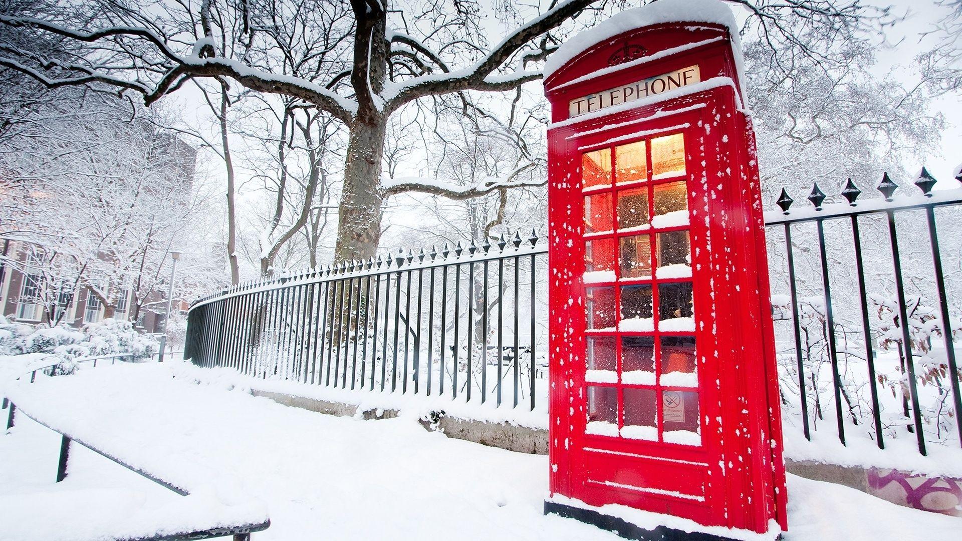 Зима в лондоне фото