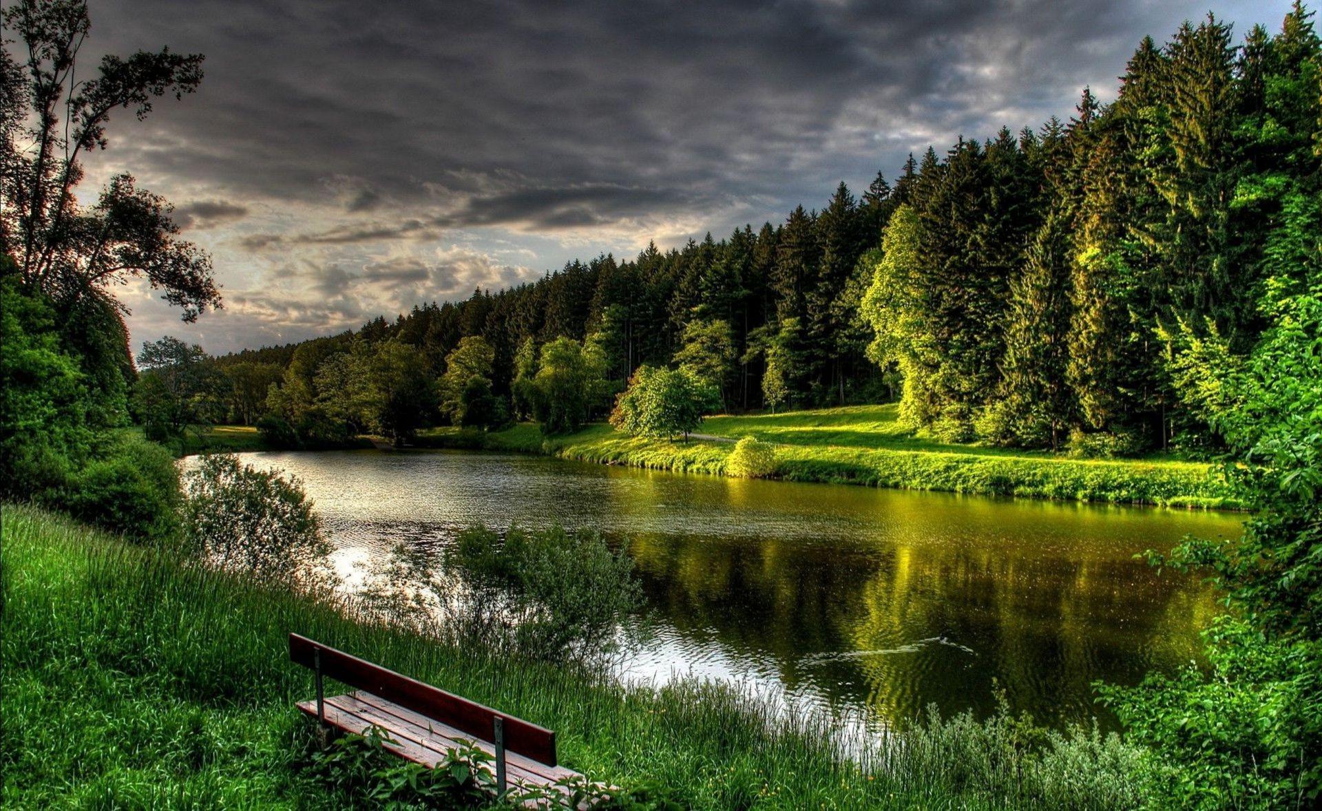 косметические картинки на рабочий стол речка и лес частности, яркой приметой