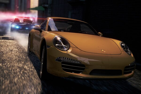 спорткар гонка need for speed most wanted 2 porsche