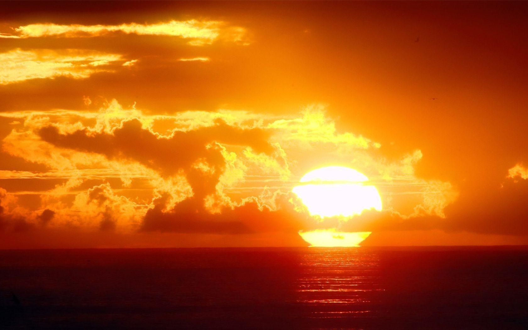 Красивые обои солнца