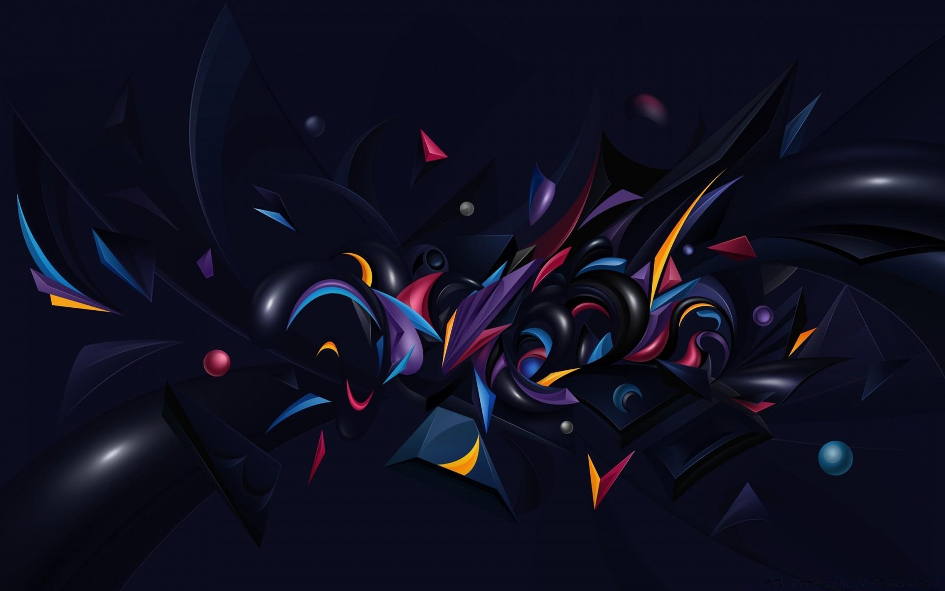 Обои узор, Цвет, хаос, свет. Абстракции foto 15