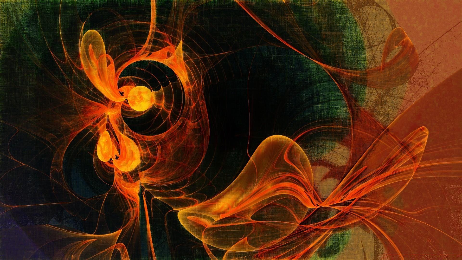 Оранжевая Абстракция без регистрации