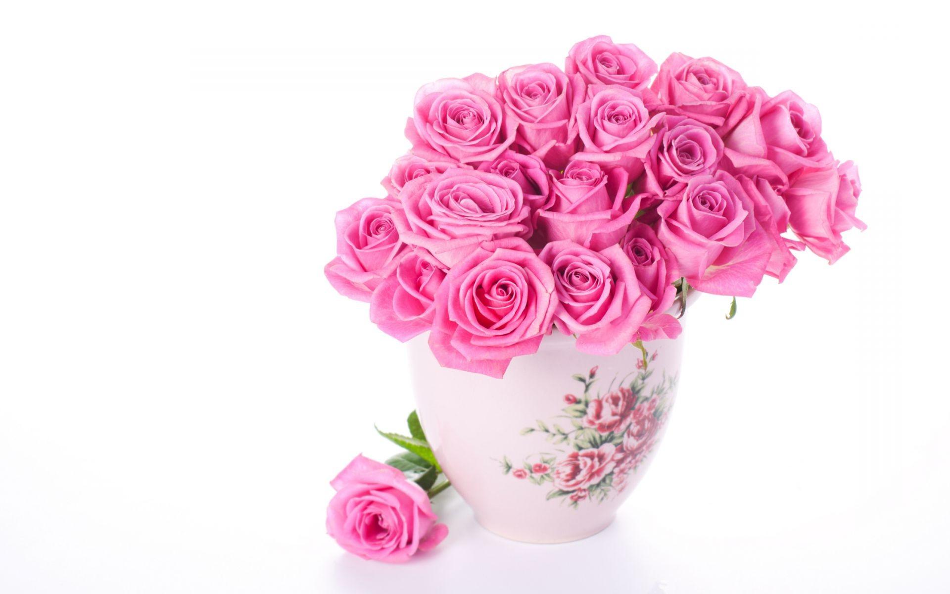 розы цветы ваза  № 1332656 бесплатно