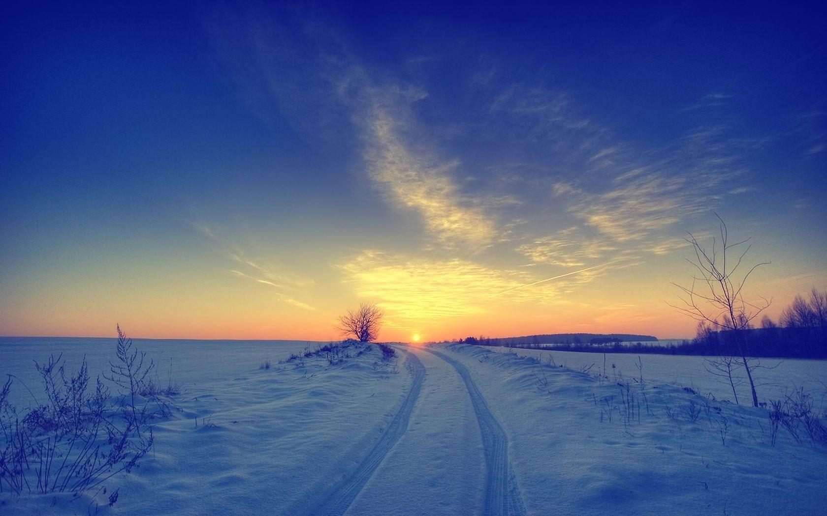 картинки на рабочий стол небо солнце снег плюс
