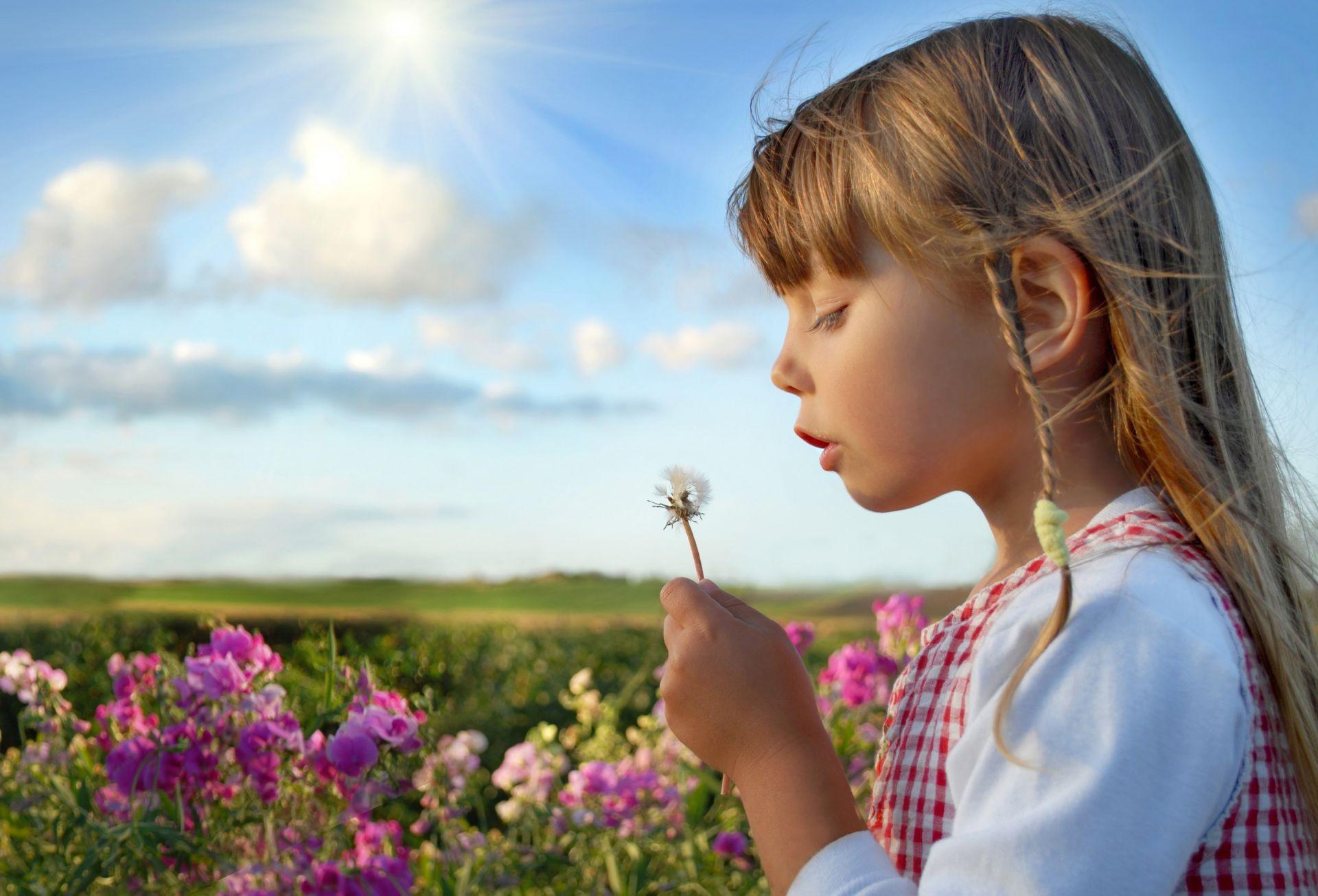 Картинки дети и природа, лето