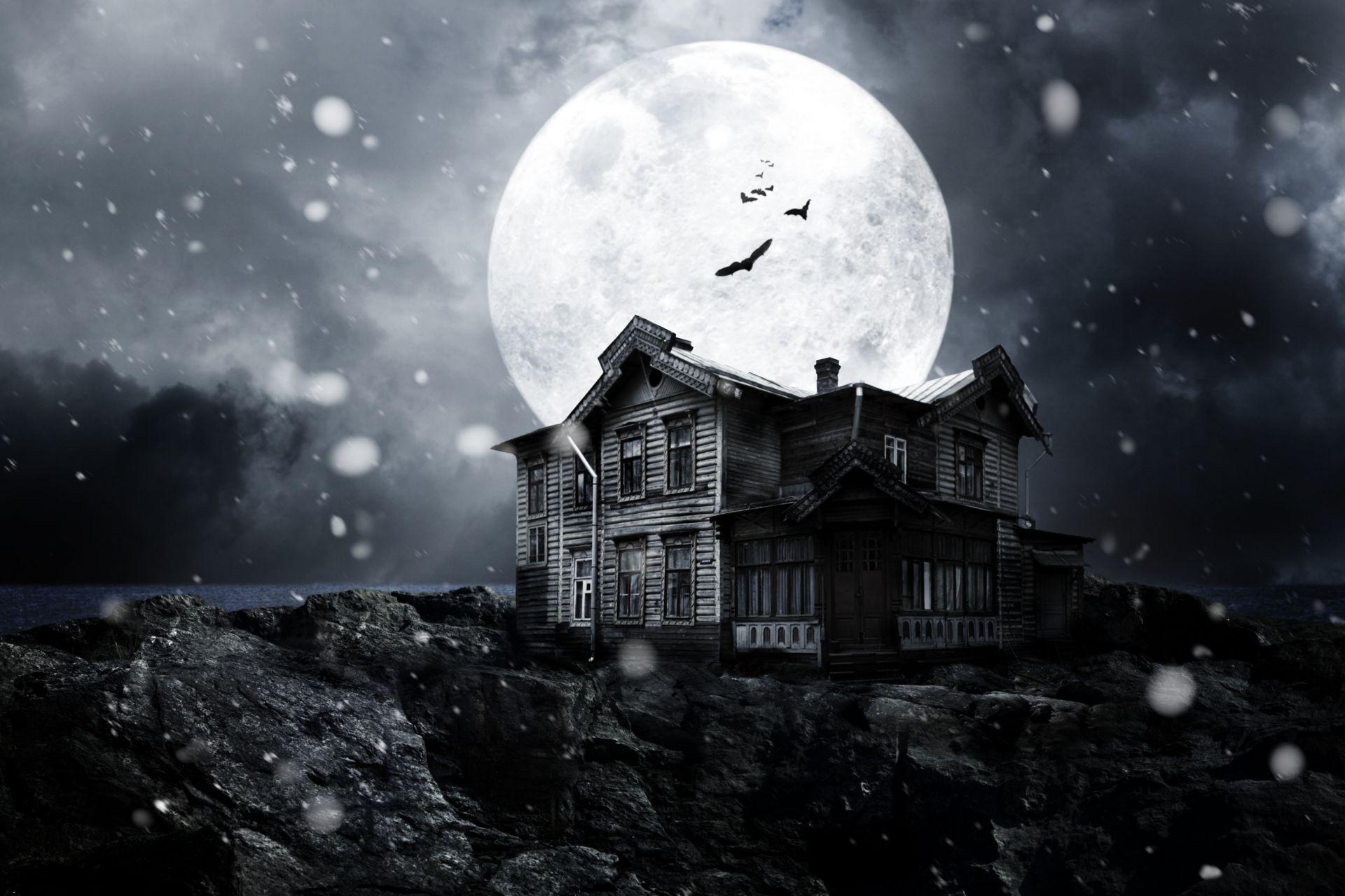wallpaper moonlight night