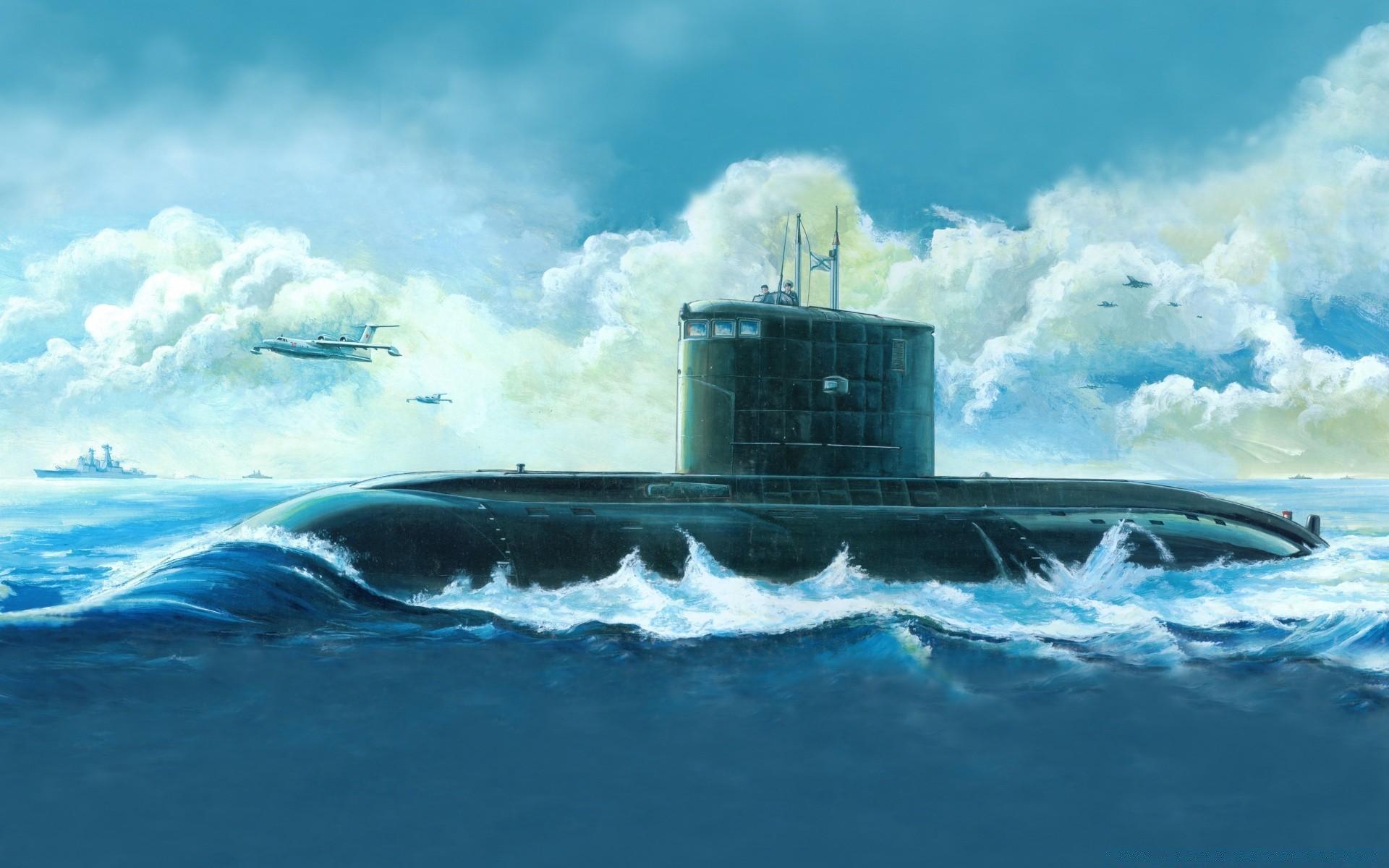 Обои рабочего стола вмф подводные лодки