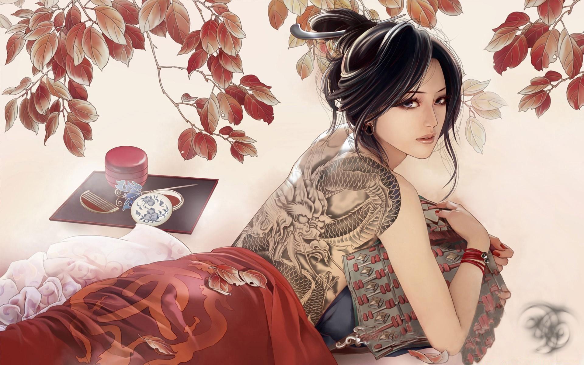 Картинки с японками на телефон