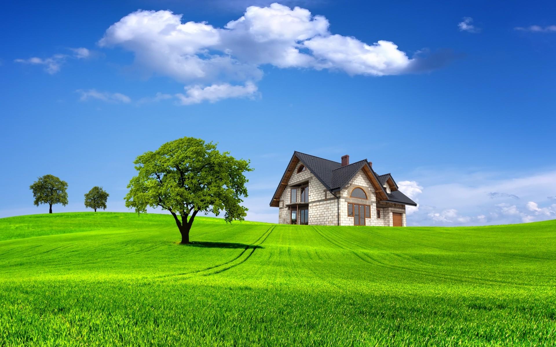 Картинки с домами в даль