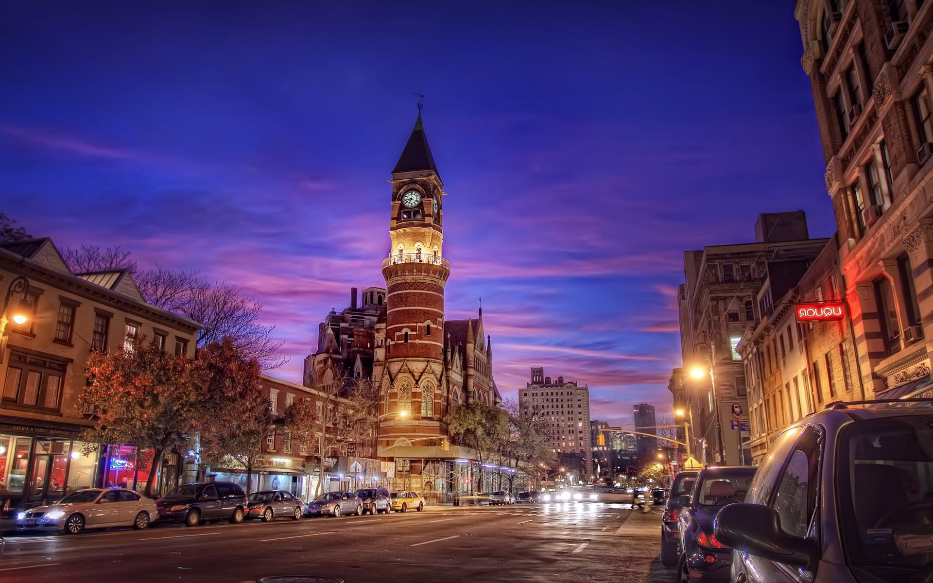 village nyc jefferson market 6th ave and 9th st. usa ne