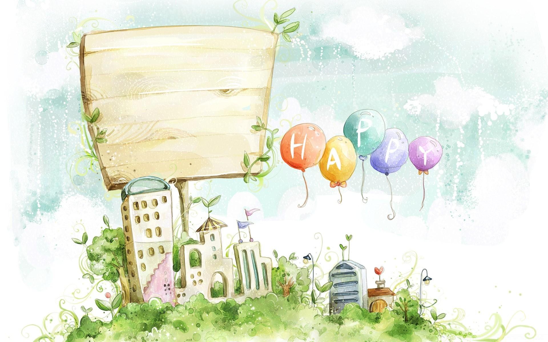 Фоны детские для открытки, поздравления днем