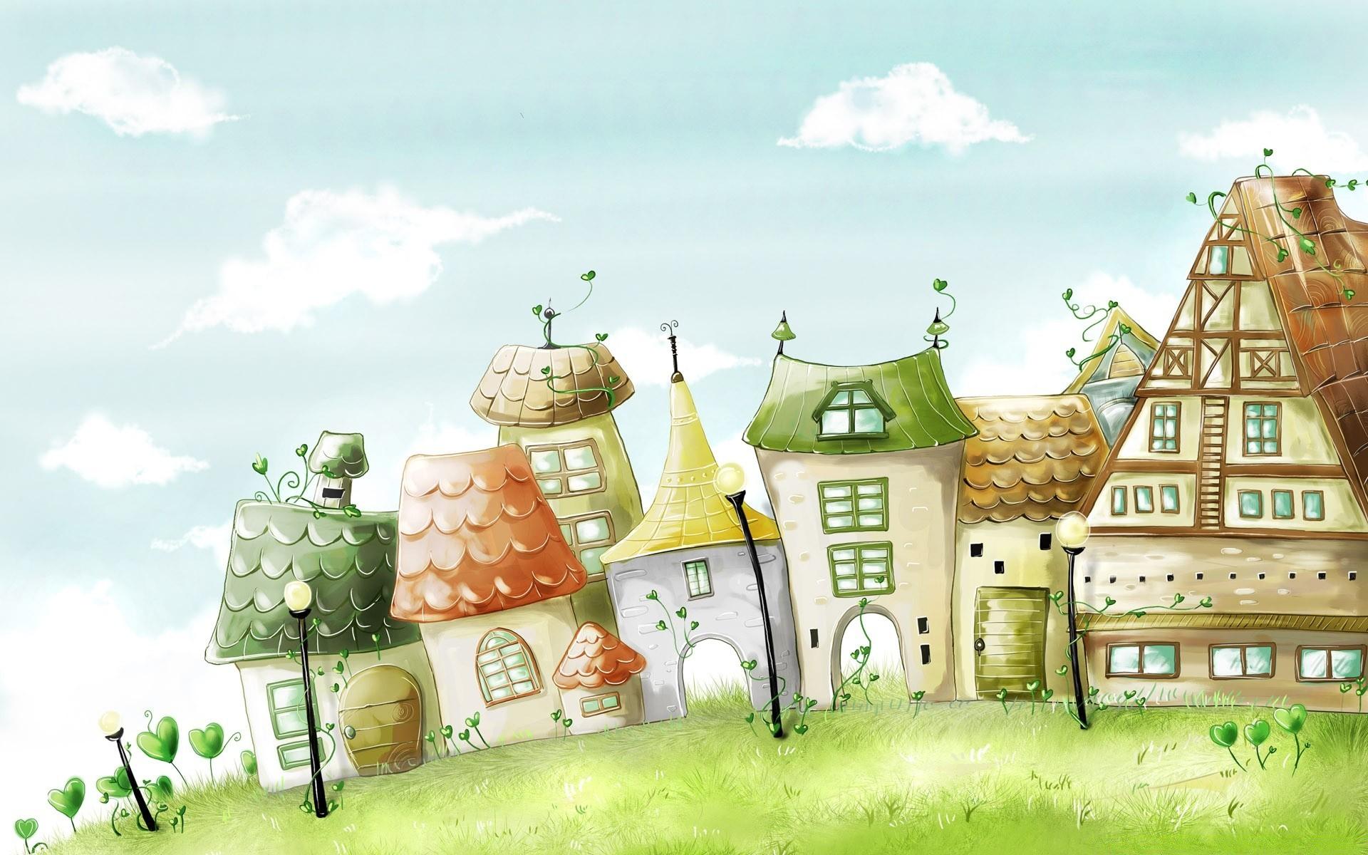 Рисунок дом  № 3354412 загрузить