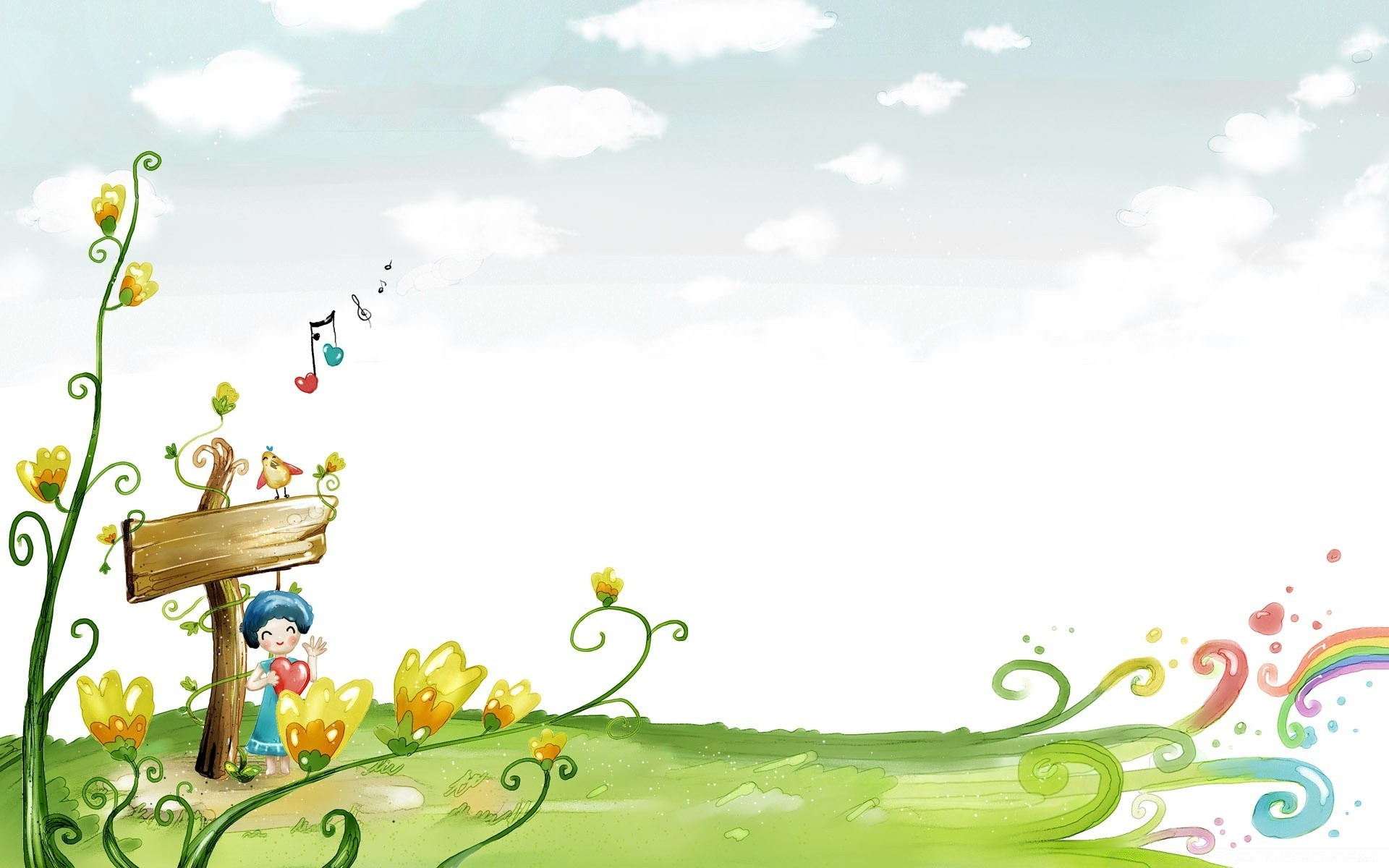 Картинки природы детские красивые