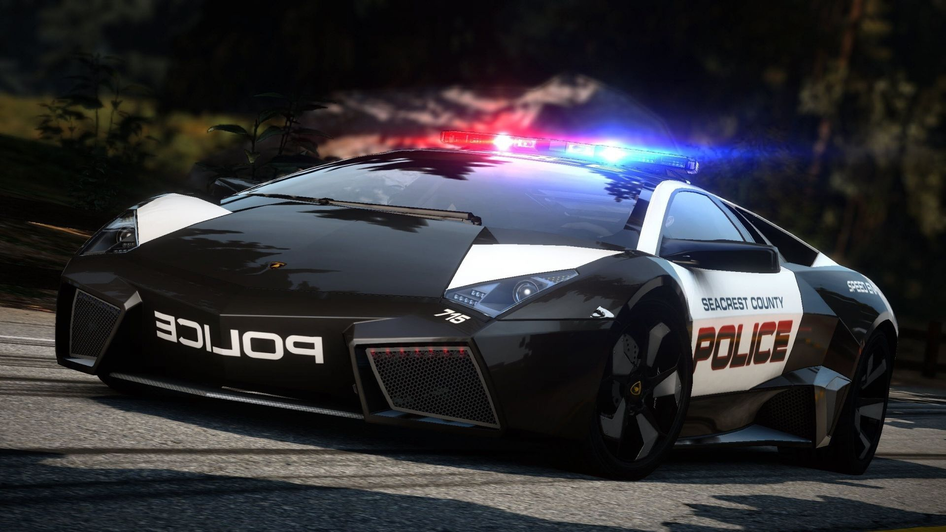 lamborghini reventon hot pursuit Need for speed дорога с