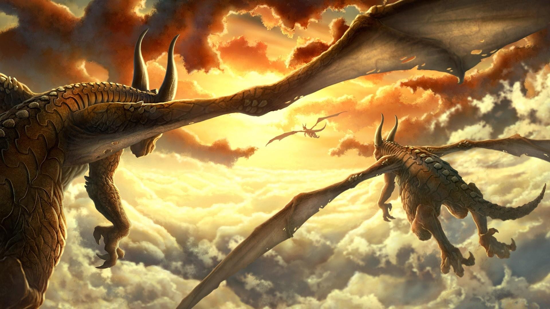 Картинки на рабочий стол большие дракон