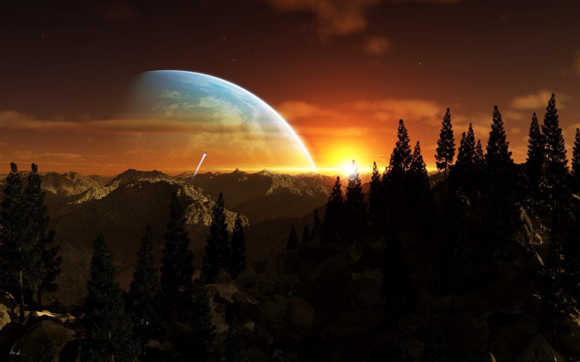 Картинки на обои космос горизонтально если