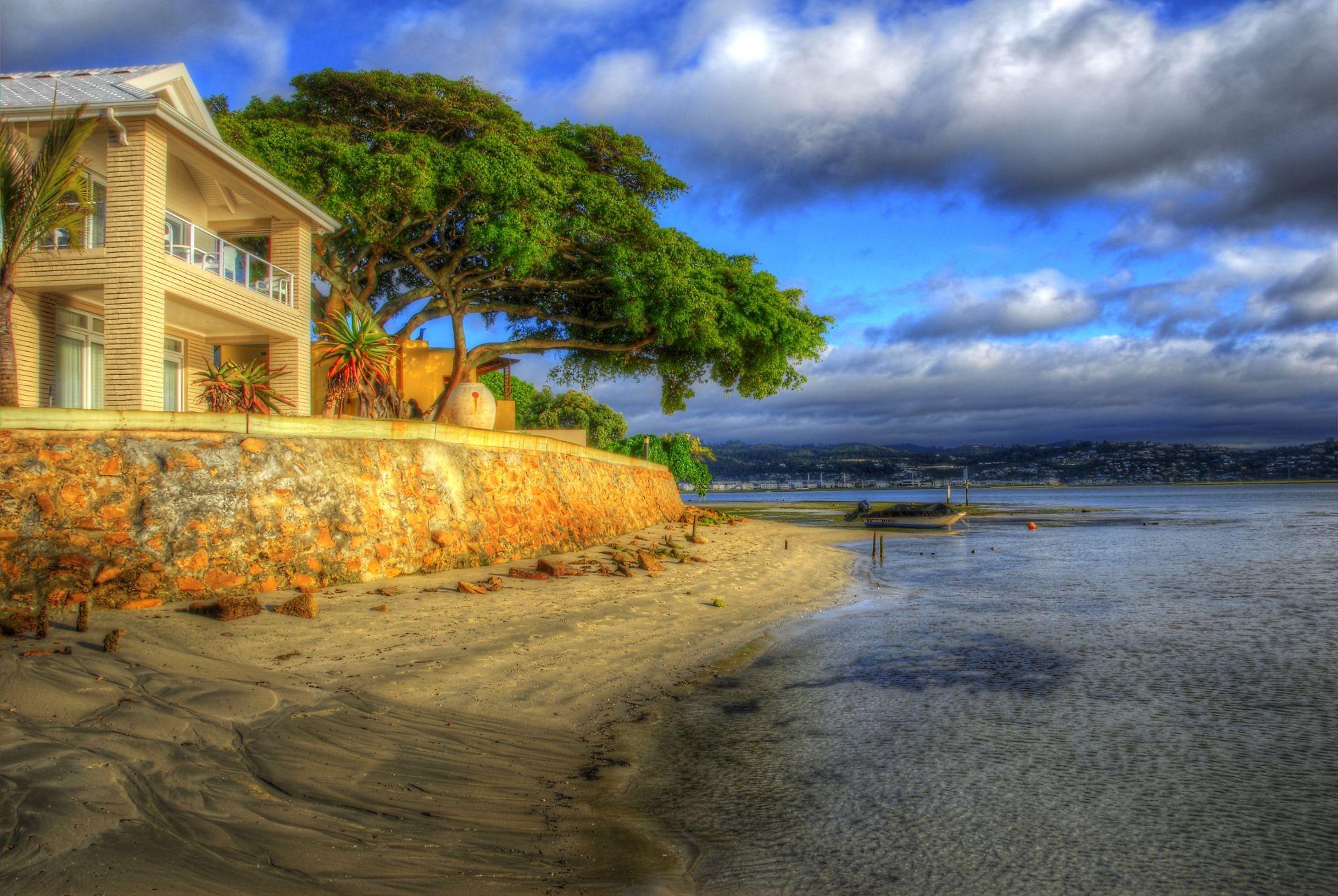 Дом у моря фото на рабочий стол