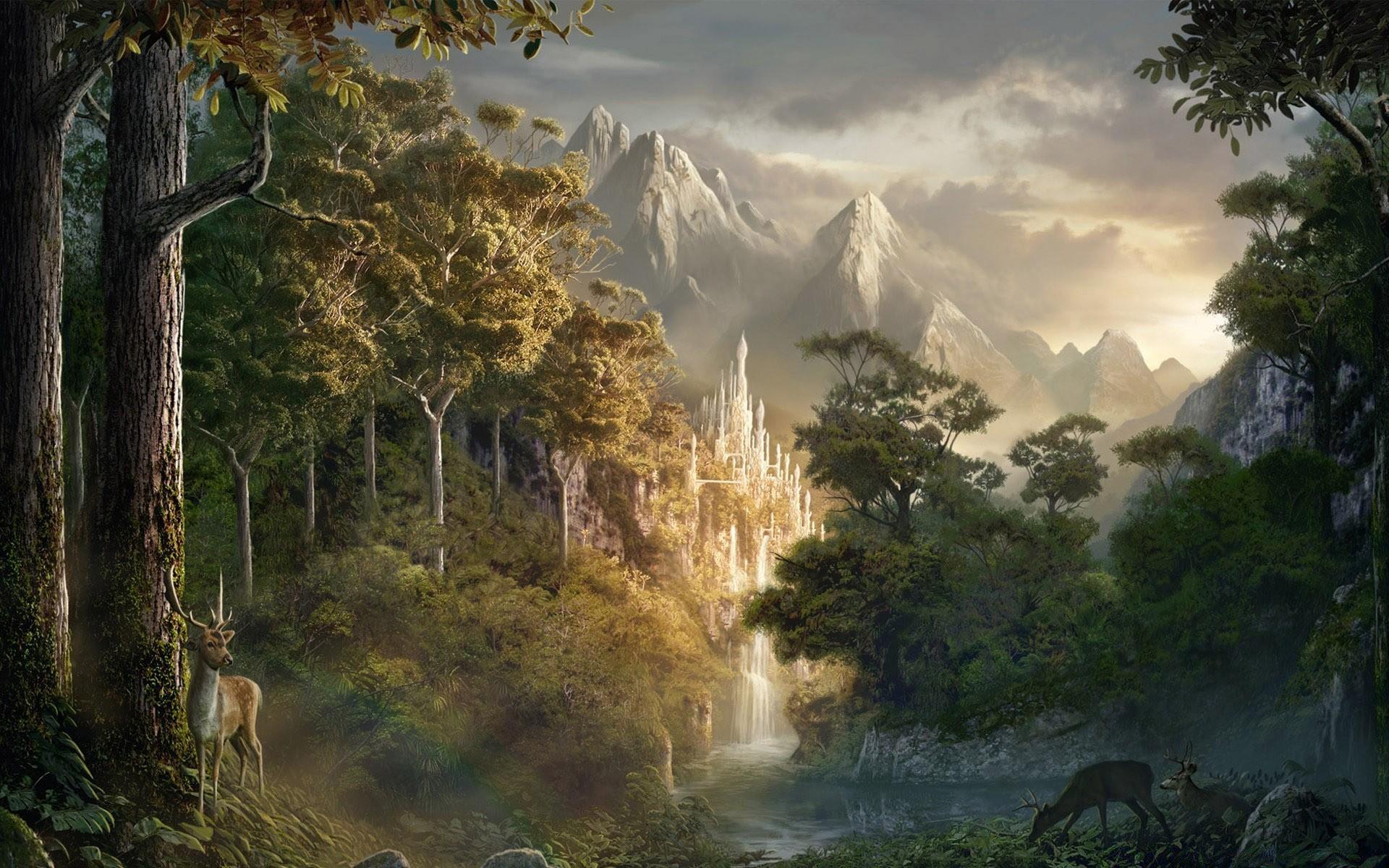 Фантазийные картинки природы, ждем вас картинки