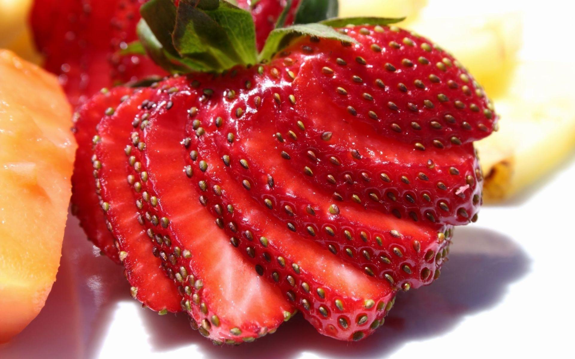 Обои ягода, клубника. Еда foto 19