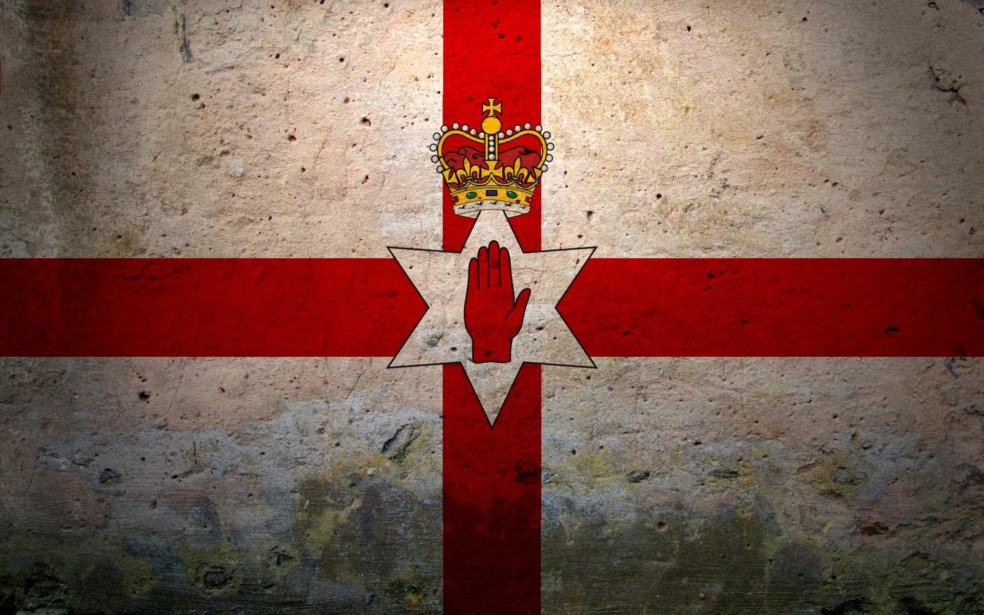 северная ирландия флаг фото день святого патрика