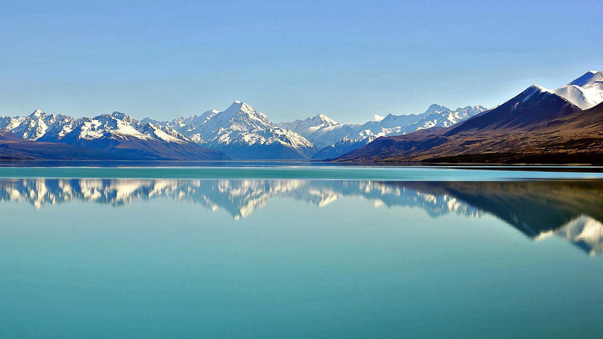 Обои горное озеро на рабочий стол