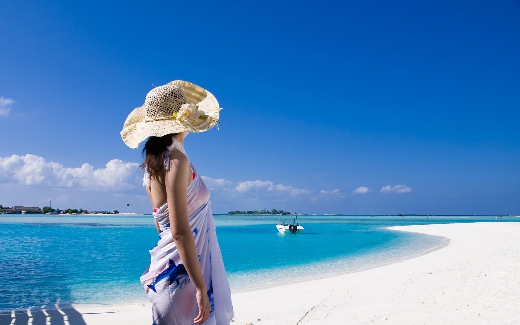 Пляж на хайнане девушки фото