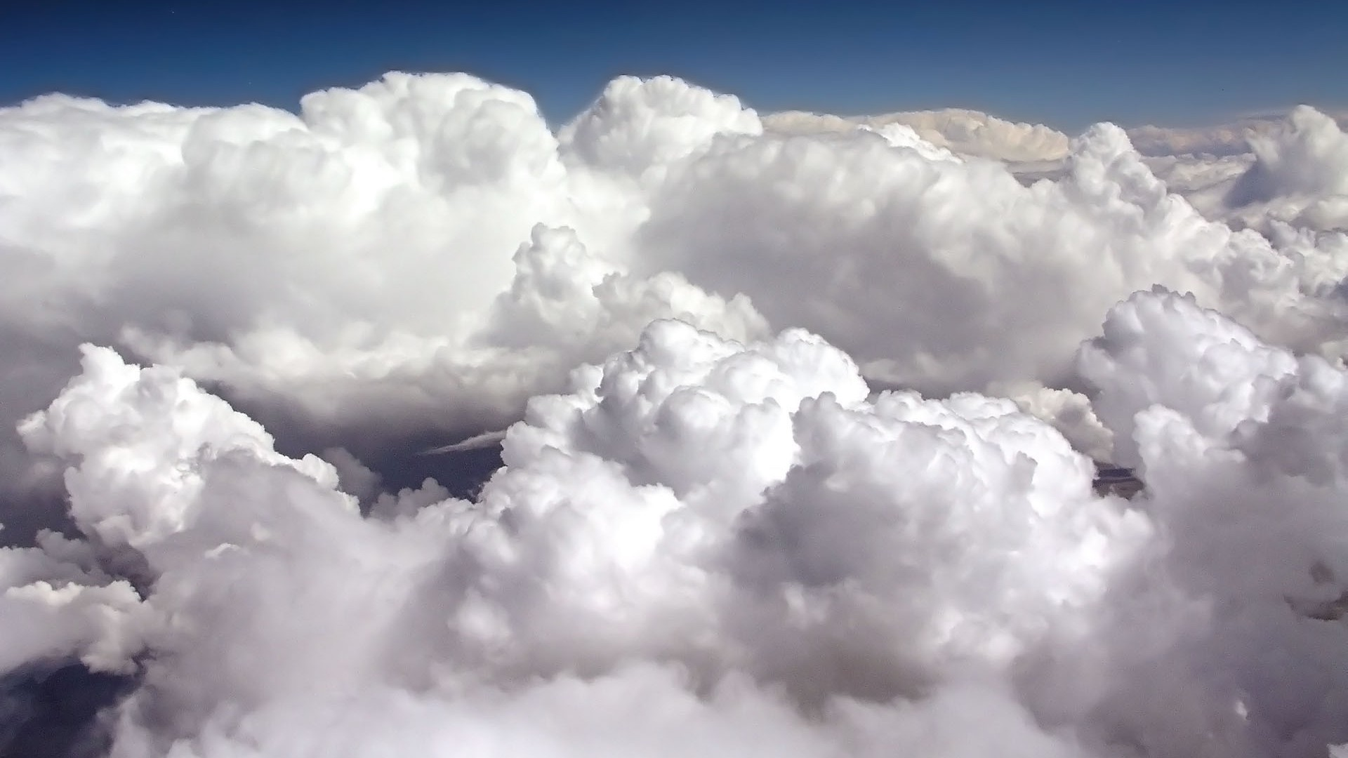 Обои на рабочий стол облака небо