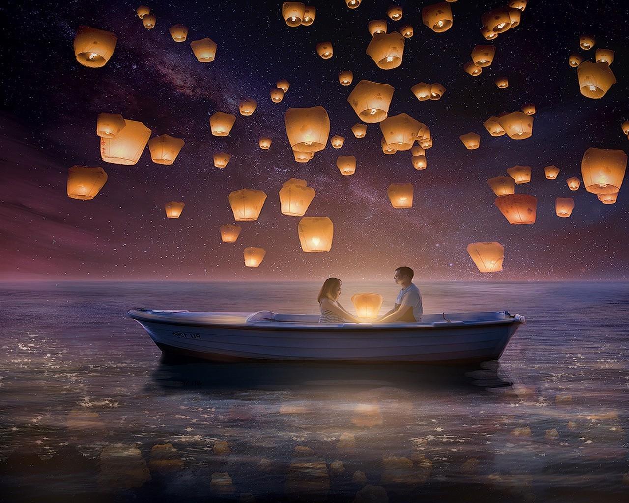 Доброй ночи картинки романтика