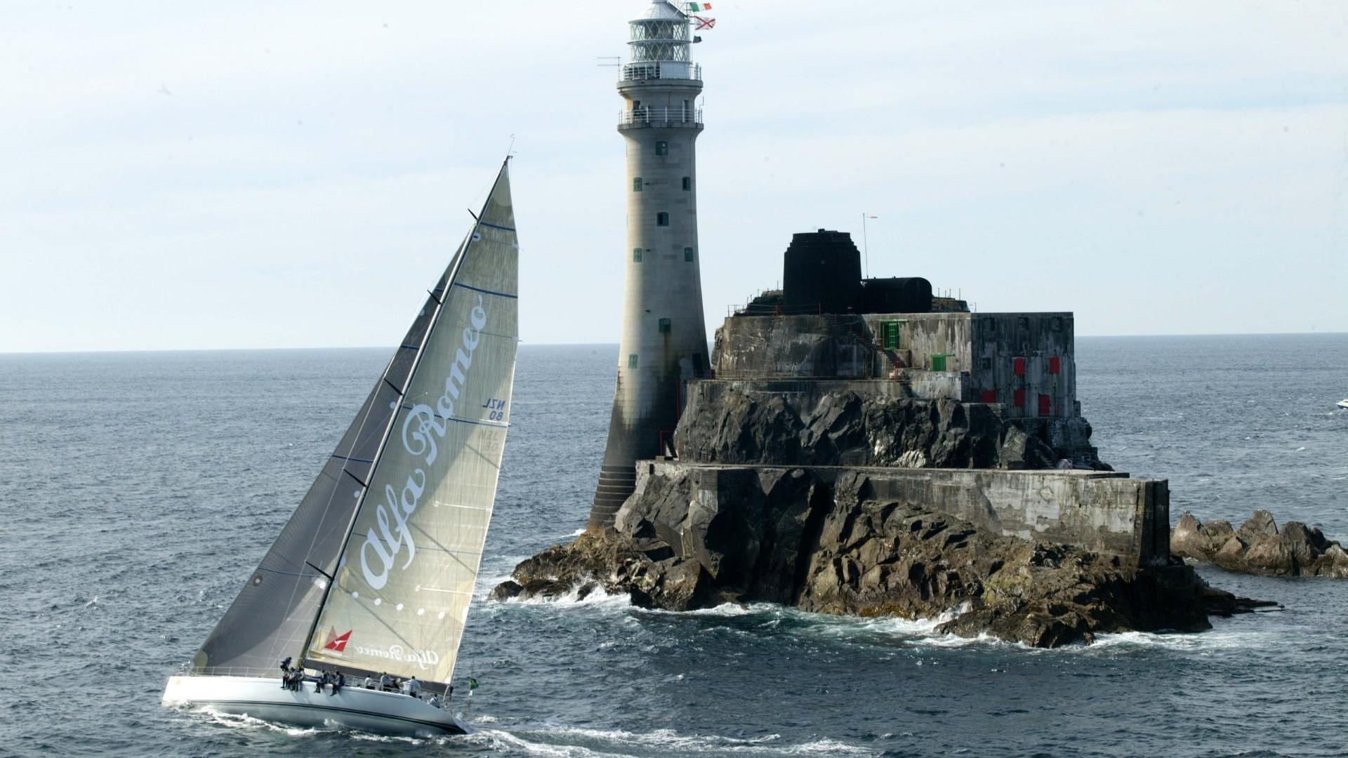 корабль маяк обои на рабочий стол № 498989 без смс