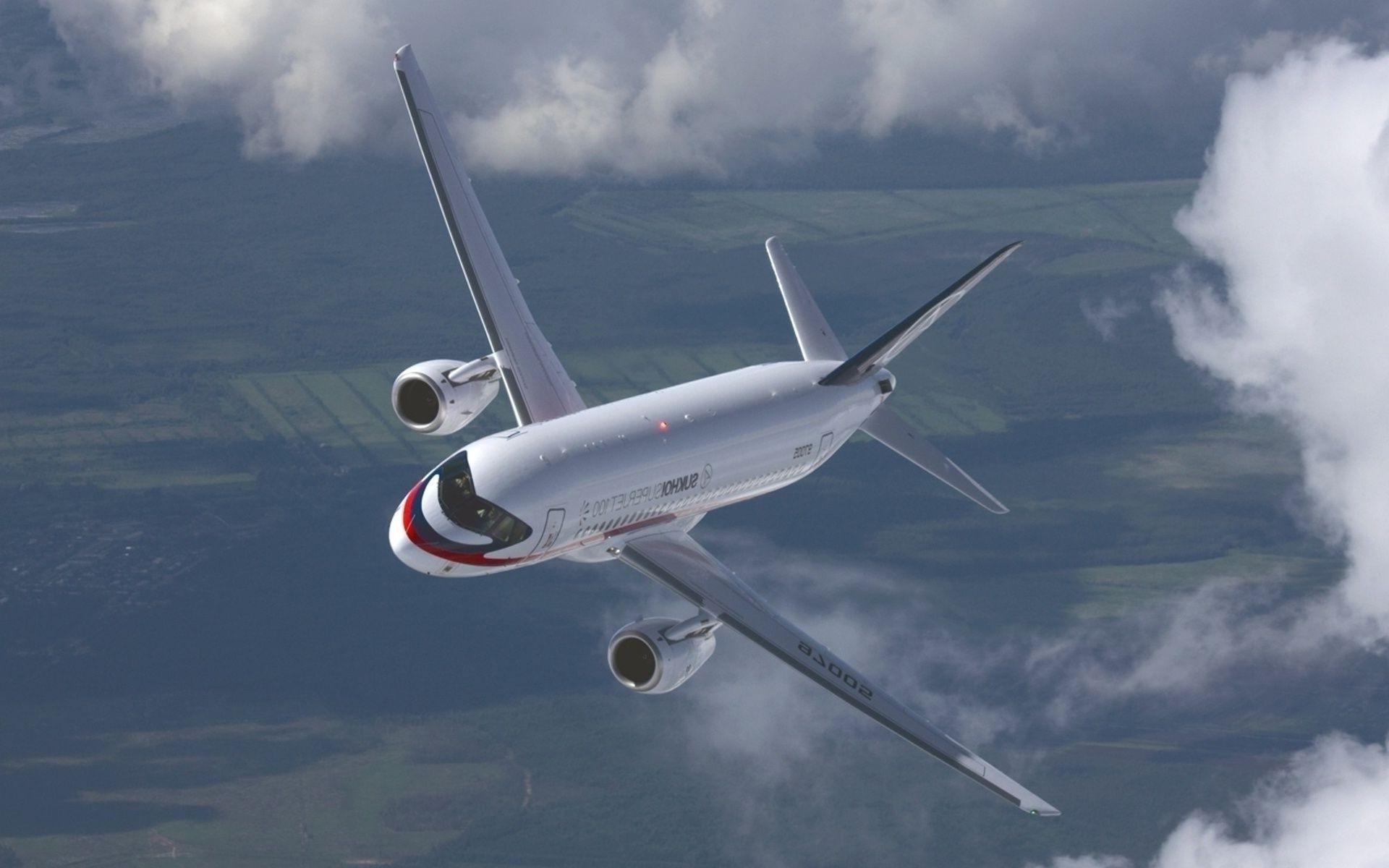 Самолеты пассажирские обои для рабочего стола